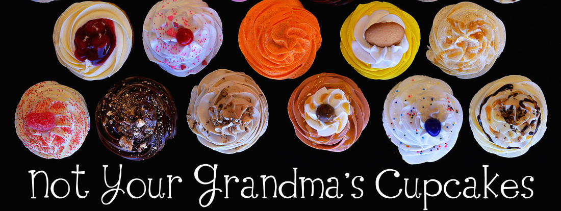 not your grandma\'s cupcakes